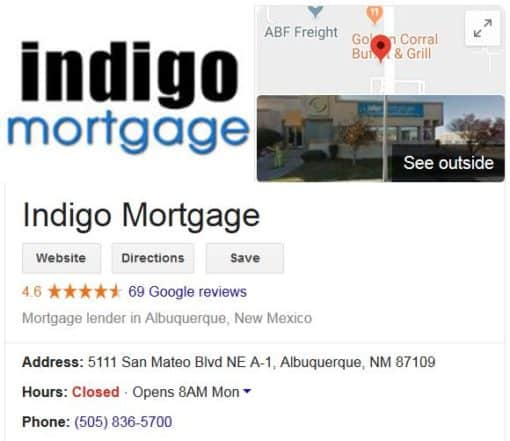 Visit Indigo Mortgage