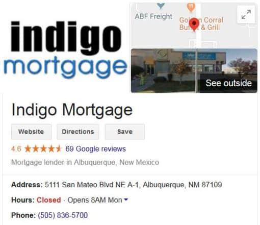 Visit Indigo Mortgage